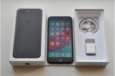 Apple iPhone 7 plus 32 gb Black   Neverlock